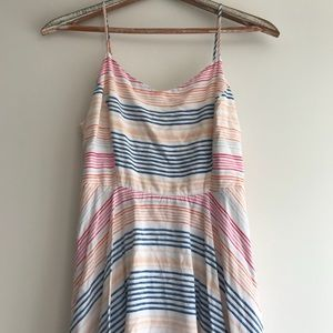 Old Navy Colorful Striped Dress Size Large
